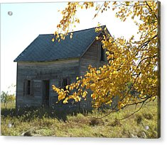 Acrylic Print featuring the photograph Captain Ed's Homestead by Penny Meyers