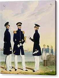 Captain Flag Officer And Commander Acrylic Print