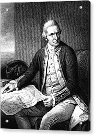 Captain James Cook Acrylic Print by Collection Abecasis