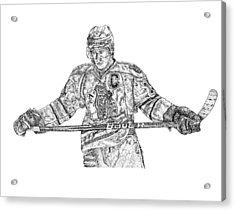 Captain Acrylic Print by Joe Rozek