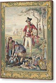 Captain Kidd  Helen Maitland Armstrong Acrylic Print by Paul Ashby Antique Paintings