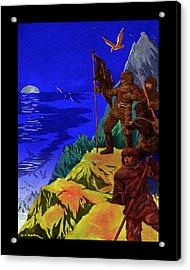 Captain Nemo Unfurled Acrylic Print by Jason Edwards