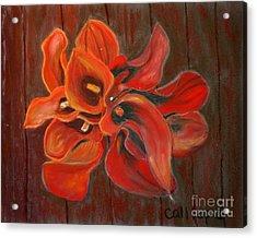 Captain Safari Bouquet Acrylic Print