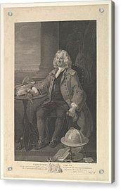 Captain Thomas Coram Acrylic Print