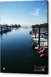 Acrylic Print featuring the photograph Captain's Cove by Kristine Nora