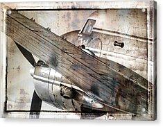 Captain's Flight Acrylic Print by Steven Bateson