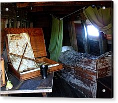 Captain's Quarters Aboard The Mayflower Acrylic Print