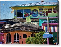 Captiva Beachside Fun Acrylic Print