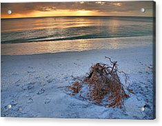 Captiva Sunset Iv Acrylic Print by Steven Ainsworth