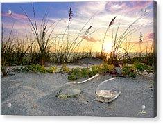 Captiva Sunset Acrylic Print by Jon Neidert