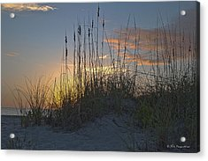 Captiva Sunset Acrylic Print by Mike Fitzgerald