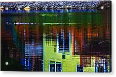 New England Landscape Illusion Acrylic Print