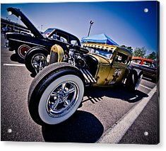 Car Candy Acrylic Print by Merrick Imagery