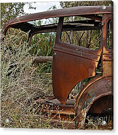 Acrylic Print featuring the photograph Car-cass by Lee Craig
