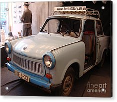 Car In Berlin Acrylic Print