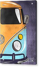Car  Acrylic Print by Mark Ashkenazi