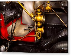 Car - Model T Ford  Acrylic Print by Mike Savad