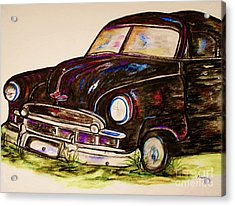 Car Of Character Acrylic Print by Eloise Schneider