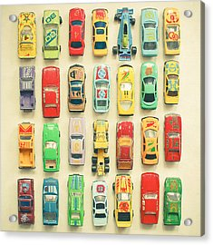 Car Park Acrylic Print by Cassia Beck