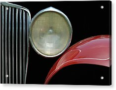 Car Parts Acrylic Print by Dan Holm