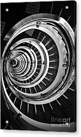 Time Tunnel Spiral Staircase In Sao Paulo Brazil Acrylic Print