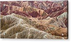 Caramelized Landscape Acrylic Print