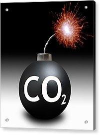 Carbon Dioxide Bomb Acrylic Print