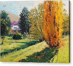 Carcor Autumn Acrylic Print