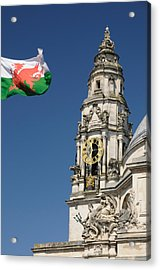 Cardiff City Hall Acrylic Print