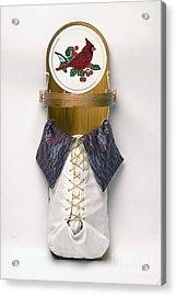 Cardinal Cradleboard Acrylic Print