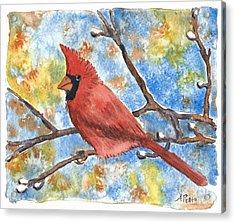 Cardinal Rule Acrylic Print