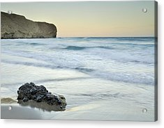 Caresses By The Sea Acrylic Print by Guido Montanes Castillo