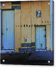 Cargo Shed  Acrylic Print