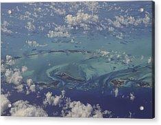Caribbean Aerial 3 Acrylic Print