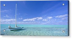 Caribbean Chill Time Acrylic Print by Marco Crupi