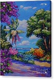 Caribbean Colours Acrylic Print