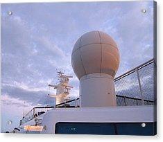 Caribbean Cruise - On Board Ship - 1212204 Acrylic Print