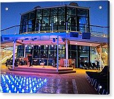 Caribbean Cruise - On Board Ship - 121238 Acrylic Print by DC Photographer