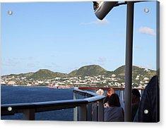 Caribbean Cruise - St Kitts - 1212116 Acrylic Print