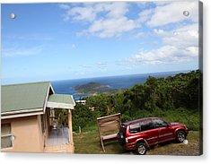 Caribbean Cruise - St Thomas - 1212172 Acrylic Print by DC Photographer
