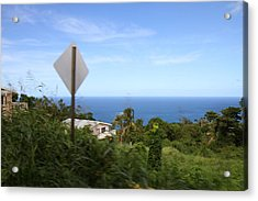 Caribbean Cruise - St Thomas - 1212179 Acrylic Print by DC Photographer
