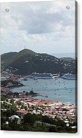 Caribbean Cruise - St Thomas - 1212201 Acrylic Print by DC Photographer