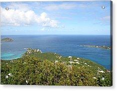 Caribbean Cruise - St Thomas - 1212226 Acrylic Print by DC Photographer
