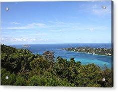 Caribbean Cruise - St Thomas - 1212238 Acrylic Print by DC Photographer