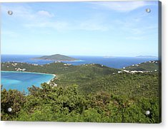 Caribbean Cruise - St Thomas - 1212240 Acrylic Print by DC Photographer