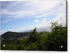 Caribbean Cruise - St Thomas - 1212252 Acrylic Print by DC Photographer