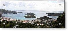 Caribbean Cruise - St Thomas - 12124 Acrylic Print by DC Photographer