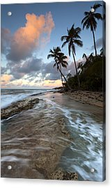 Caribbean Flow  Acrylic Print by Patrick Downey