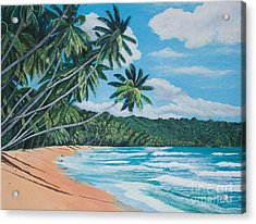 Caribbean Jewel -1 Acrylic Print