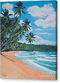 Caribbean Jewel Acrylic Print